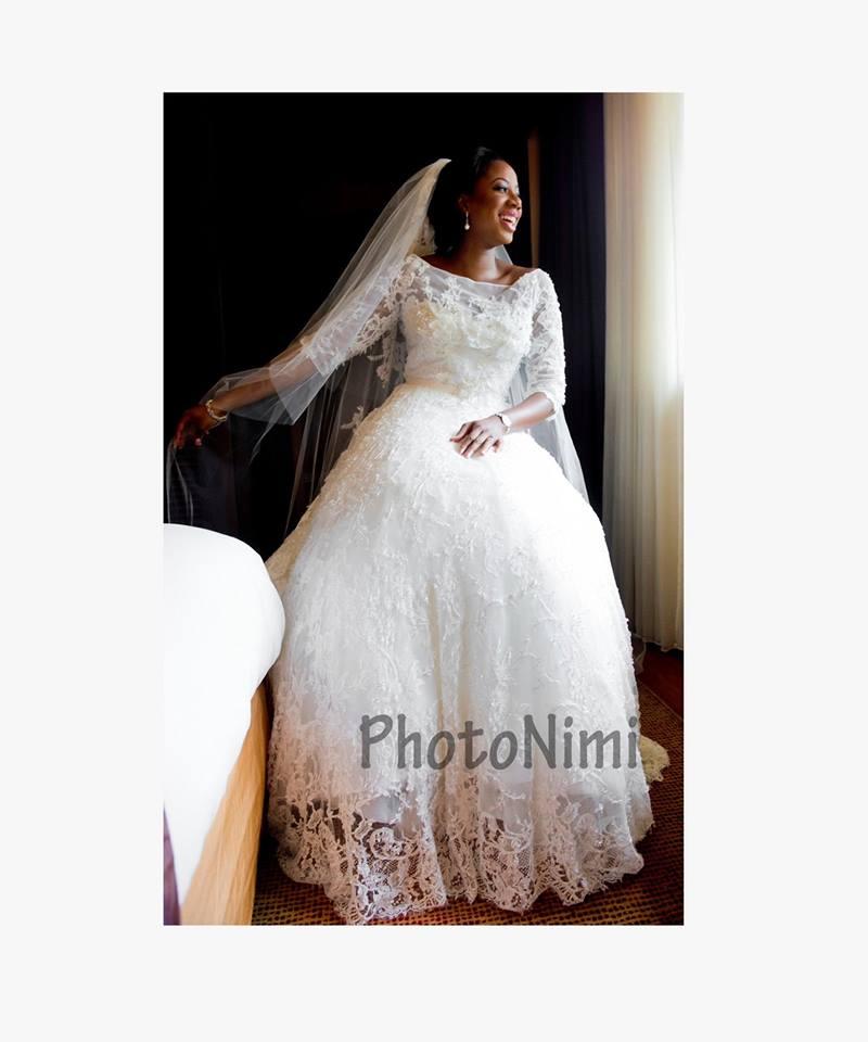 bride looking to brighter future